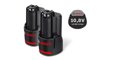 Bosch PT GBA 10,8 V 1.5 Ah O-A battery set
