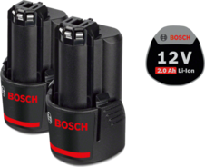 Bosch PT GBA 12V 2.0 Ah O-B battery set