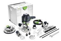 Festool OF 1400 EBQ-Plus + Box-OF-S 8/10x HW - Horní frézka